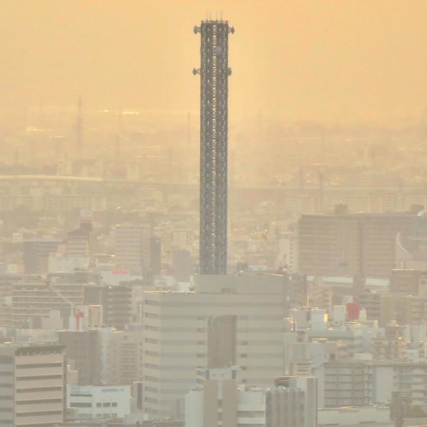 東山スカイタワーから見た景色:中部電力千代田ビル - 2