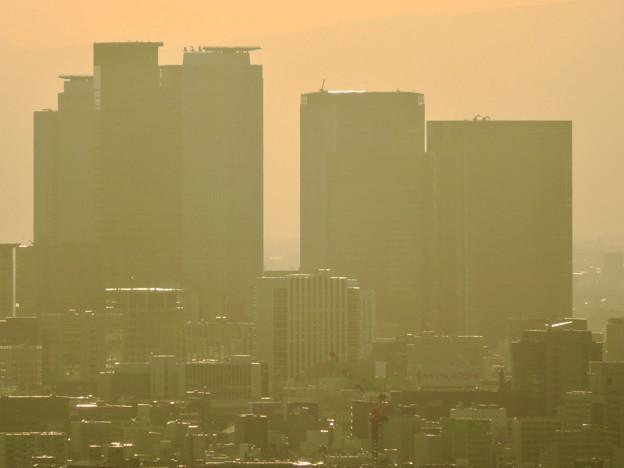 東山スカイタワーから見た景色:名駅ビル群 - 2