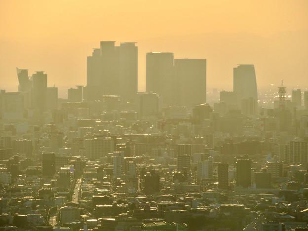 東山スカイタワーから見た景色:名駅ビル群 - 3