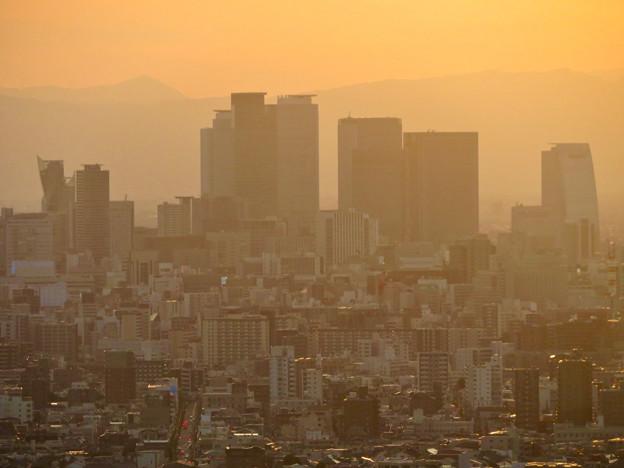 東山スカイタワーから見た景色:名駅ビル群 - 5