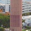 東山スカイタワーから見た景色:名古屋高速の地下部分から空気を出し入れするための巨大ファン? - 2