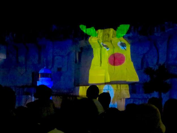 東山動植物園ナイトZoo 2018:プロジェクションマッピング - 4(ズーボ)