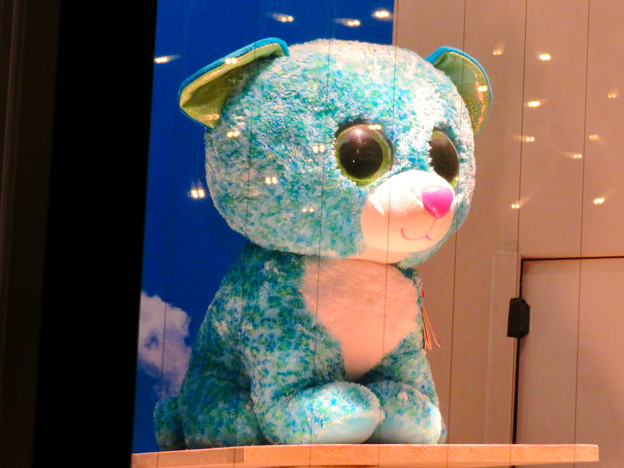 東山動植物園ナイトZoo 2018 No - 35:お土産屋さんで売られている青色の…ヒョウ?