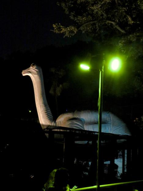 東山動植物園ナイトZoo 2018 No - 63:恐竜像
