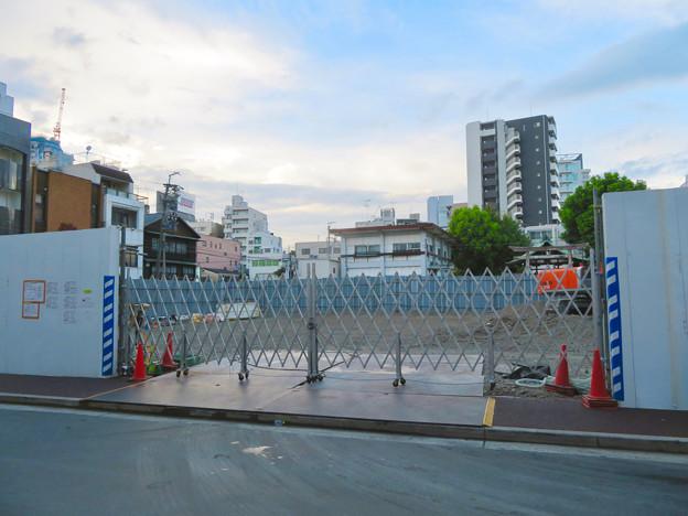 すっかり更地になっていた旧・大須中公設市場跡地(2018年9月2日) - 5