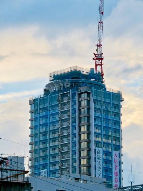 若宮大通沿いに建設中の高級賃貸マンション? - 1