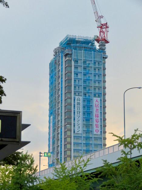 若宮大通沿いに建設中の高級賃貸マンション? - 3