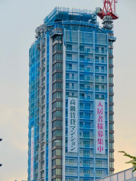 若宮大通沿いに建設中の高級賃貸マンション? - 4