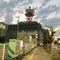 改装工事(?)中のNTT西日本春日井ビル(2018年9月6日) - 1