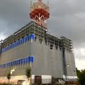 改装工事(?)中のNTT西日本春日井ビル(2018年9月6日) - 6