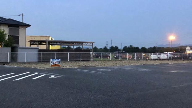 写真: すっかり更地になっていた旧・サークルK 春日井西山町店跡地 - 2