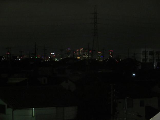アピタ桃花台店の屋上から見えた名駅ビル群 - 1