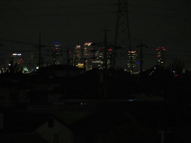 アピタ桃花台店の屋上から見えた名駅ビル群 - 2