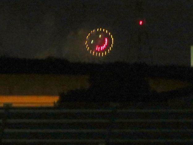 桃花台中央公園から見えた「せともの祭」の花火 - 4