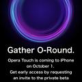 iOS版Opera Touchのベータテスター募集ページがちょっとカッコいい! - 3