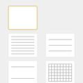 Photos: iOS 12のメモアプリ:手書き使用時の背景選択
