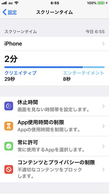 iOS 12の新機能:スクリーンタイム - 2