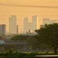 写真: 出川(てがわ)橋から見えた名駅ビル群 - 3