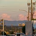 Photos: 残暑で再び雲も夏っぽかった今日の夕方見えた雲 - 2