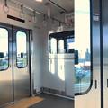 Photos: Camera7で撮影したあおなみ線車内と外の景色