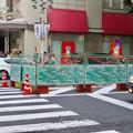 南大津通:中央分離帯を撤去?(2018年9月23日) - 2