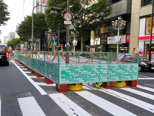 南大津通:中央分離帯を撤去?(2018年9月23日) - 4