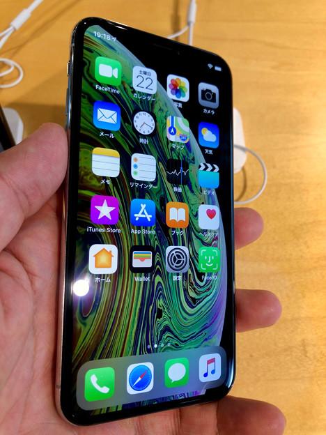iPhone XS No - 1:ホーム画面