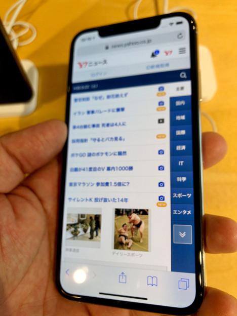 iPhone XS No - 4:Safari(※ピンぼけ)
