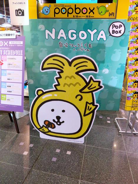 ロフト名古屋:金シャチのゆるキャラ?