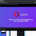 Photos: Opera 56:ビデオポップアウトで音量調節可能に!