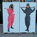 Photos: メイカーズ・ピアの顔出し看板 - 2:忍者