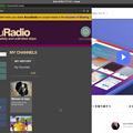 写真: Vivaldi 2.1.1317.4:脱Flash化したので、WEBパネルで「AccuRadio」が視聴可能に! - 1