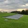 写真: パークアリーナ小牧の丘の側溝?の中 - 1