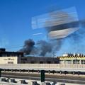 Photos: 東名高速走行中の高速バスから撮影した国盛化学の火事 - 34