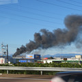 Photos: 東名高速走行中の高速バスから撮影した国盛化学の火事 - 40
