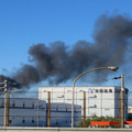 Photos: 東名高速走行中の高速バスから撮影した国盛化学の火事 - 41