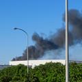 東名高速走行中の高速バスから撮影した国盛化学の火事 - 42