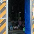 桃花台線の桃花台東駅周辺撤去工事(2018年10月11日) - 24:駅舎内部の設備はすでに撤去済み?