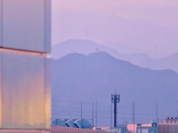 エアポートウォーク名古屋 No - 4:スカイデッキから見えた岐阜城(金華山)