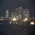 エアポートウォーク名古屋 No - 21:3階フードコートから見た夜の名駅ビル群
