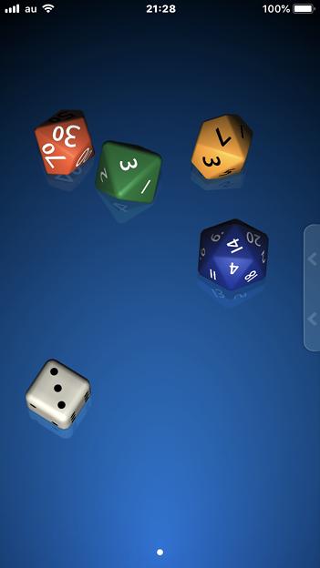 サイコロが振れるアプリ「Pip」- 4