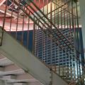 写真: オアシス21「水の宇宙船」へと通じる階段のシャッター - 2