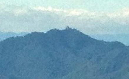 写真: ツインアーチ138から見た金華山(2012年6月撮影) - 8
