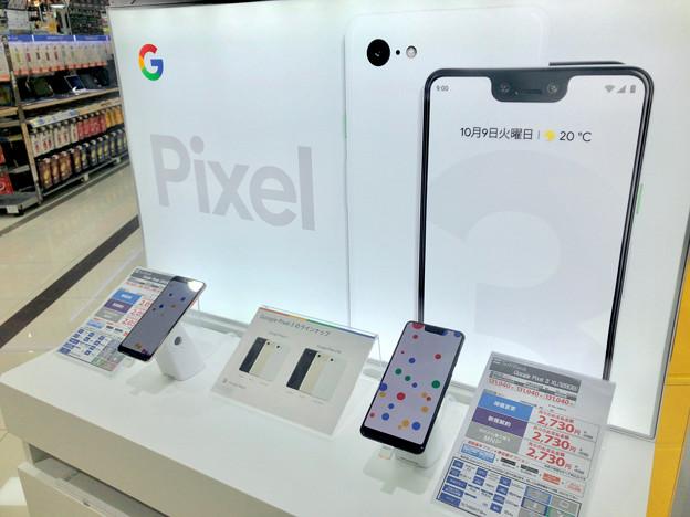 Pixel 3と3 XL