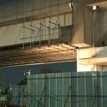 写真: 桃花台線の桃花台東駅周辺撤去工事(2018年10月22日):片側高架の撤去作業が開始 - 2