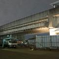 写真: 桃花台線の桃花台東駅横高架撤去工事(2018年10月23日) - 2