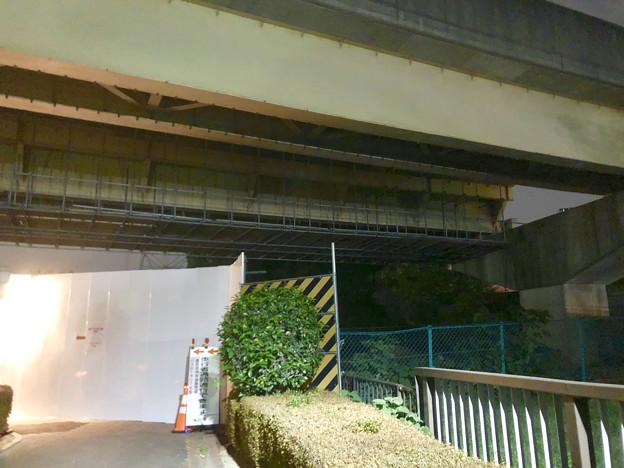 写真: 桃花台線の桃花台東駅横高架撤去工事(2018年10月23日) - 4