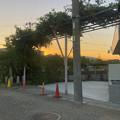 写真: 藤棚だけが残されてた旧・清流亭(2018年10月) - 2