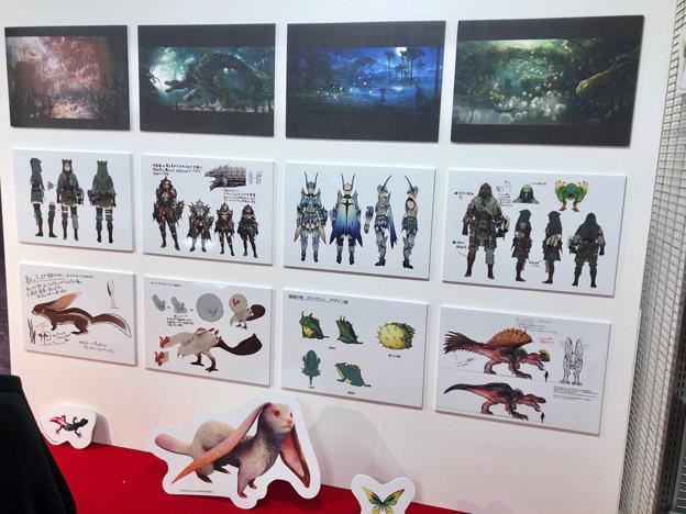 ロフト名古屋:モンハン関連グッズや資料の展示 - 5