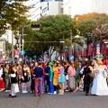 南大津通歩行者天国(2018年10月28日) - 2:ハロウィンなどで沢山いたコスプレしてる人たち